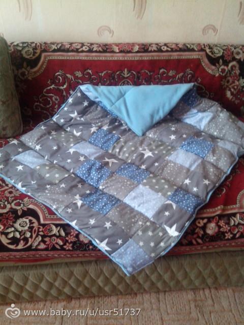 Сшить одеяло для новорожденного на синтепоне 596