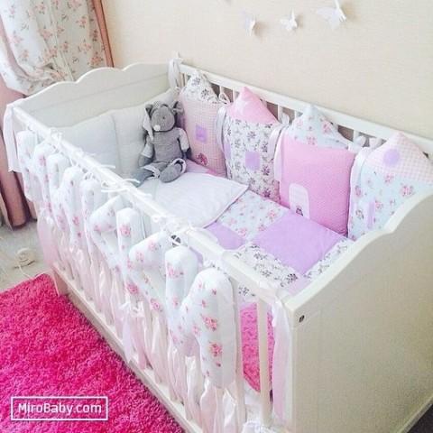 Как сшить бортик в детскую кроватку