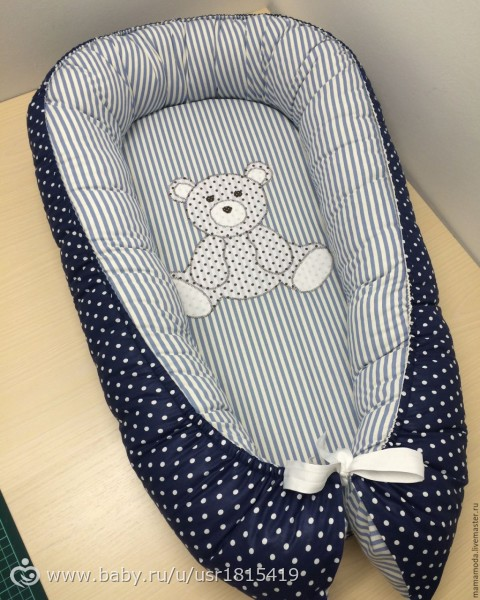 Сшить кокон для новорожденных своими руками