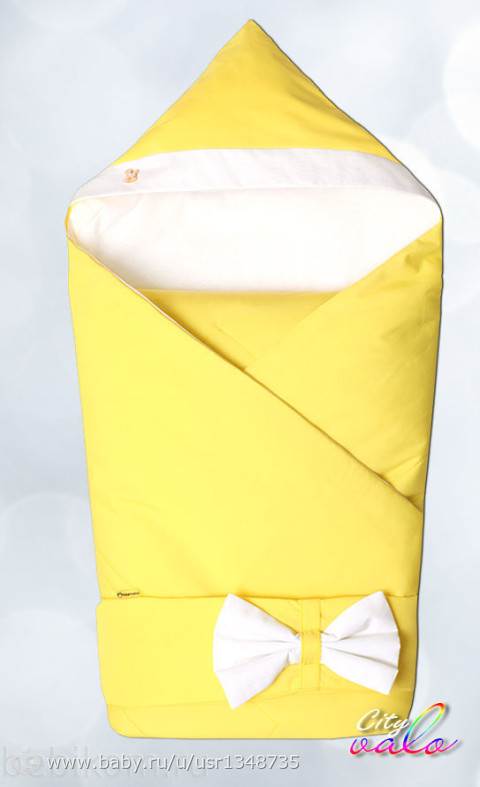 Конверт или одеяло для новорожденного