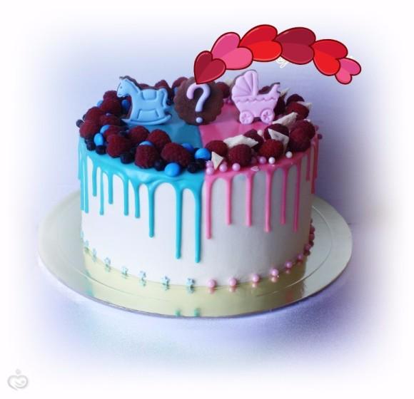 Торт и пол ребенка