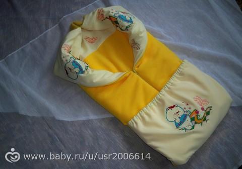 Конверт одеяло для новорожденного сшить а