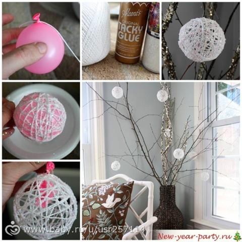 Декорации своими руками в домашних условиях