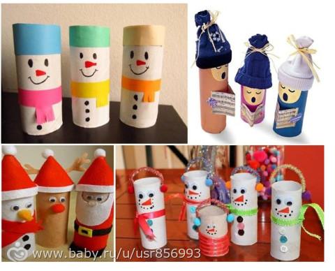 Поделки из туалетных рулончиков своими руками для детей