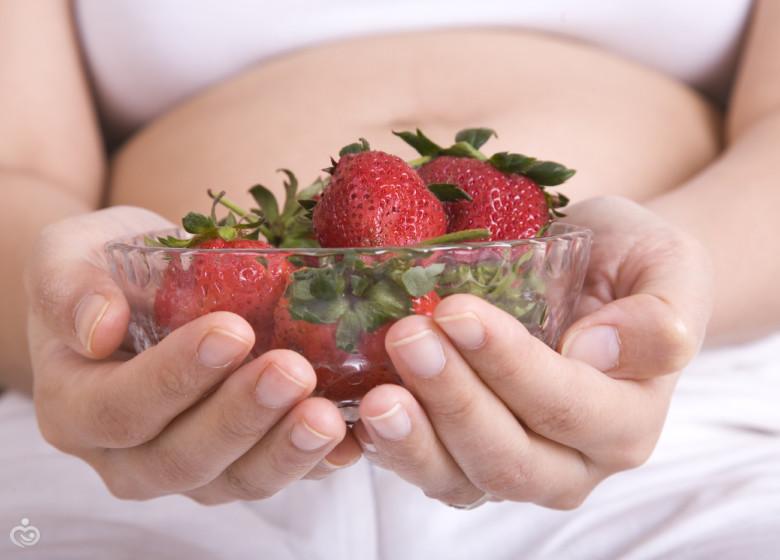 Земляника для беременной