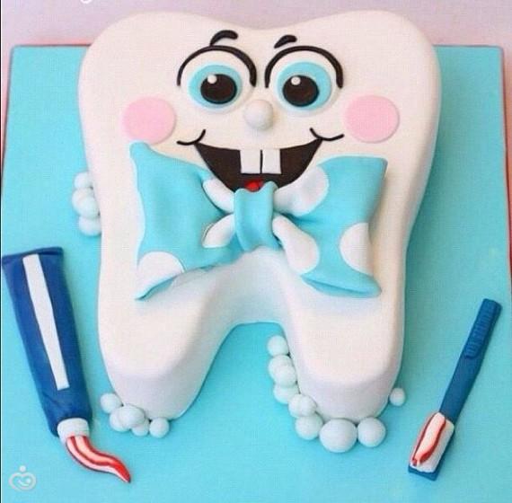 Фото тортов стоматологу