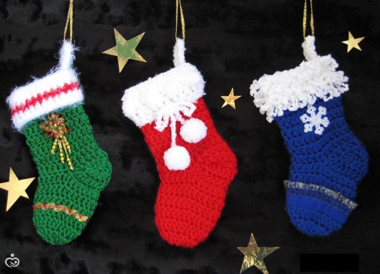 Новогодние подарки своими руками и связанные крючком