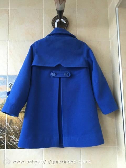 Пальто для девочки из драпа сшить 60
