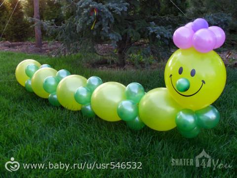 Детская своими руками шары