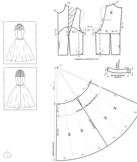 Шьем свадебное платье выкройки
