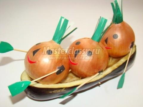 Поделки для осени из овощей и фруктов