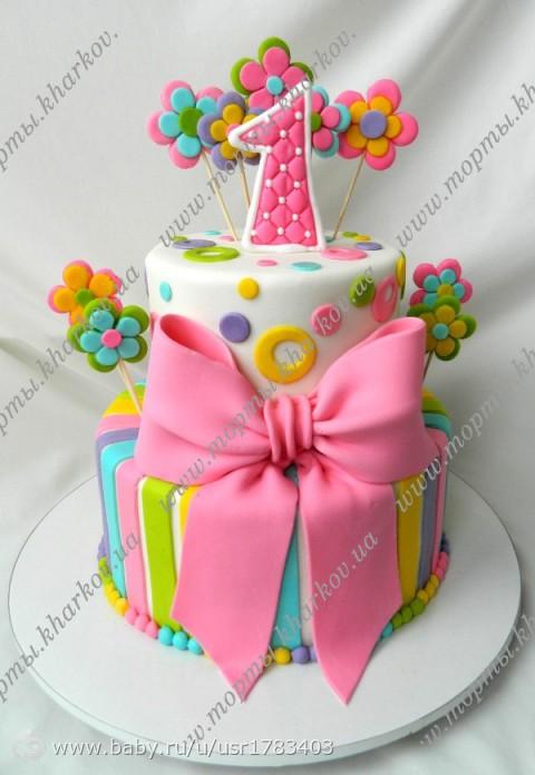 Торты своими руками на день рождения на годик