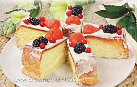 Торти перожни рецепти фото