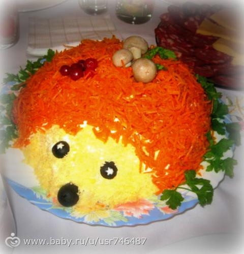 Детские салаты день рождения рецепты фото