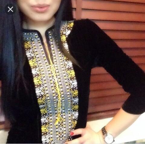 Вышивки для таджикских платьев