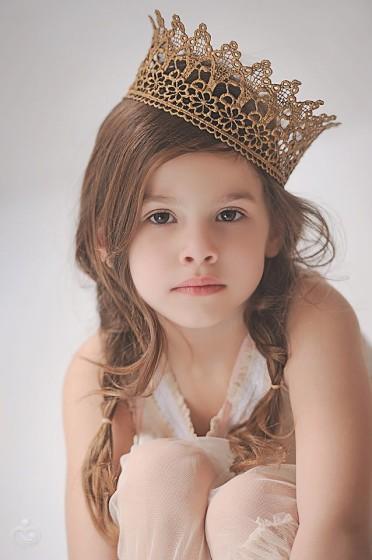 Корона принцессы своими руками из кружева