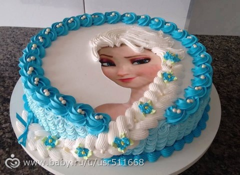Заказ торта холодное сердце