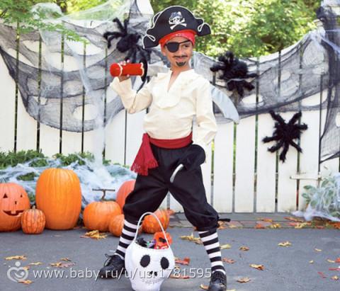 Как сделать костюм пирата на новый год своими руками