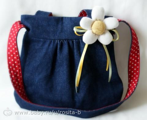 Как сшить сумку девочке своими руками