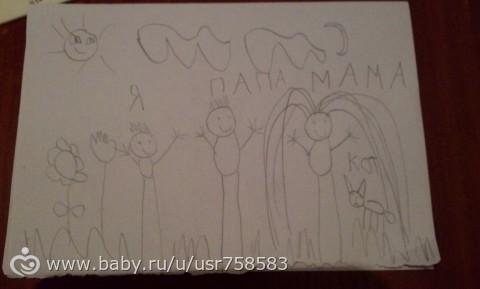 Психология по рисункам. Семья .(Расшифруйте).