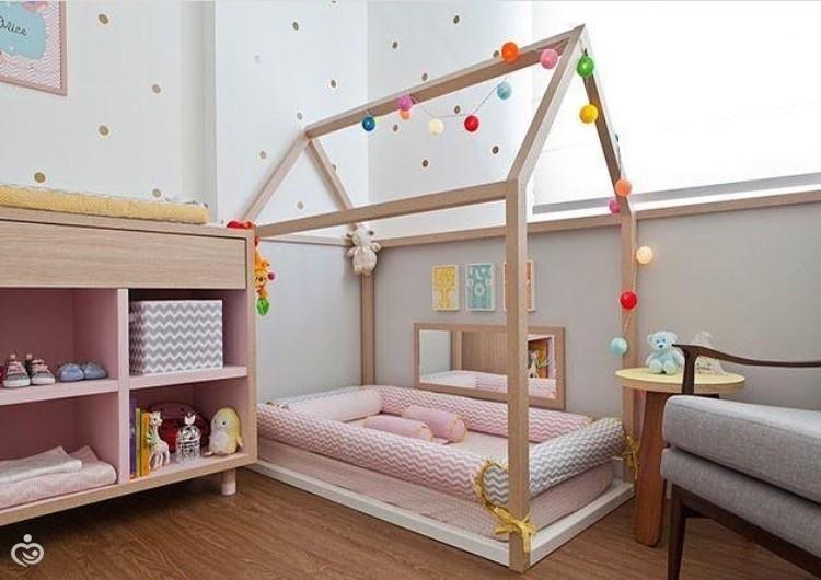 Кровать домик своими руками фото