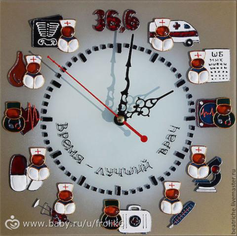Часы на день своими руками