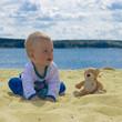 впервые на пляже