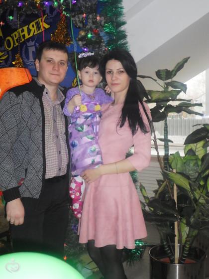 Наша ёлка в Горняке)))
