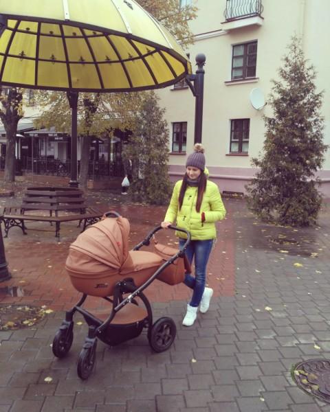 Сделали нашу колясочу))))))