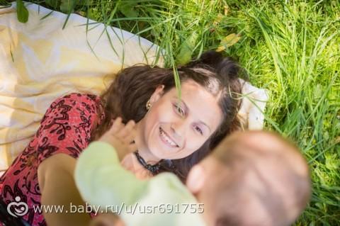счастливая мама))) немного фотографий)