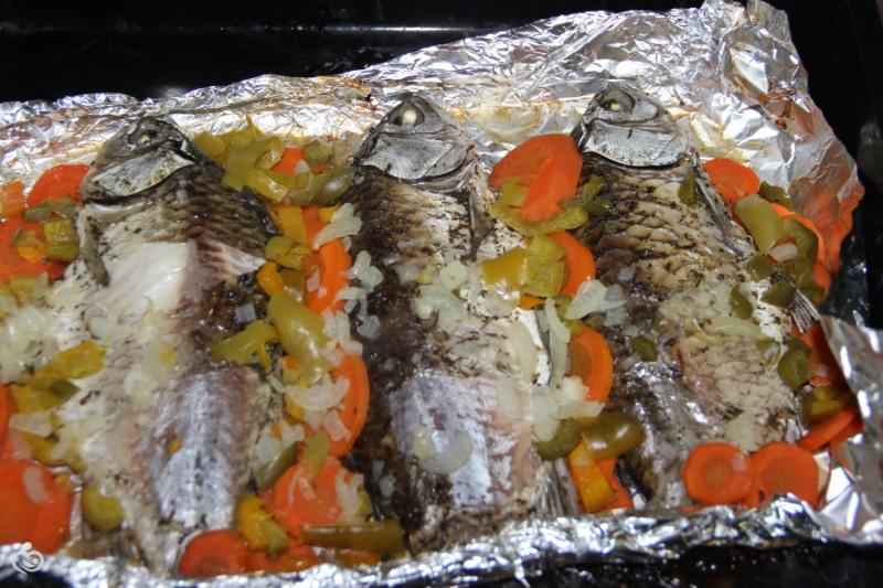 Рецепты ПП. Запеченная в фольге рыбка