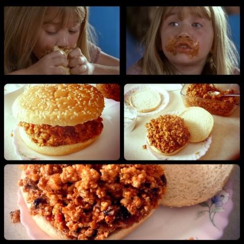 Джо растяпа гамбургер рецепт
