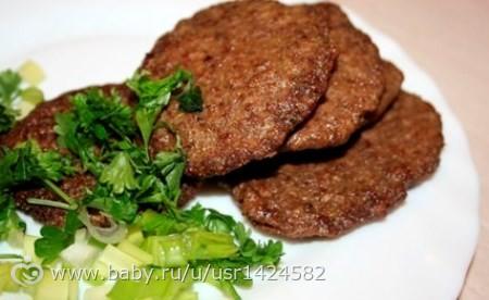 Оладушки из печени говяжьей рецепт с фото