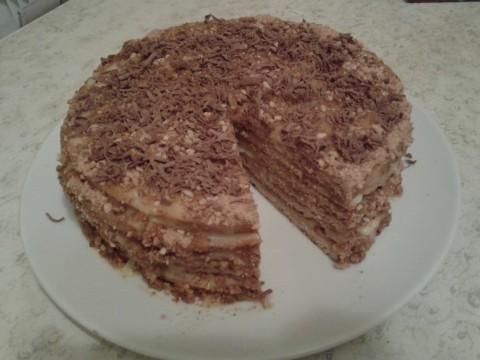"Торт ""Медовик"" по рецепту"