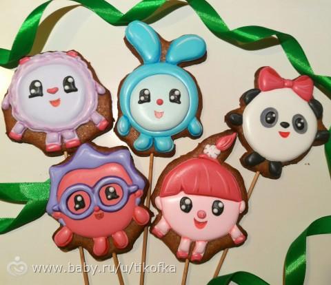Имбирное печенье малышарики
