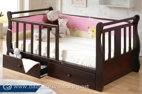 кровать для дочки 1,8 фото