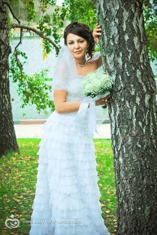 Старое свадебное платье куда деть