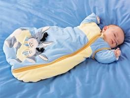 В чем спят детки при +20