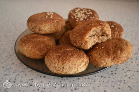 ну что, сделала печенье из каши)))