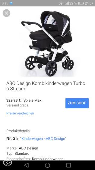 Коляска для новорожденного