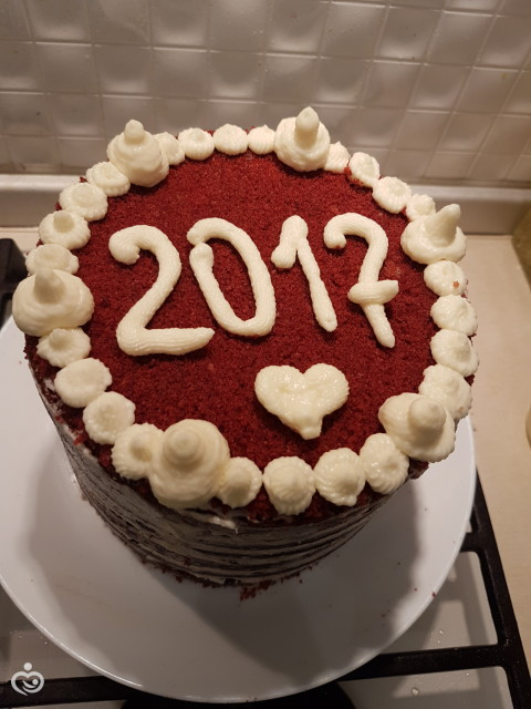 Тортик на новогодний стол