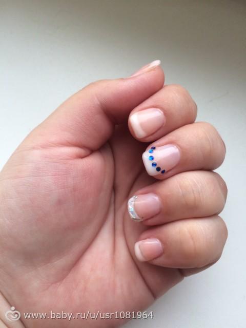 Нарощенные ногти у ребенка фото