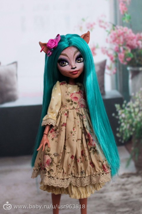 Платья на кукол монстер хай выкройки фото 204