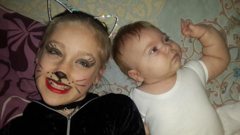 Моя Кошка убежала на утреник)
