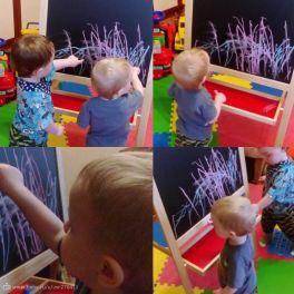 Мои юные художники!