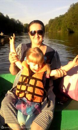 мы катаемся на лодке