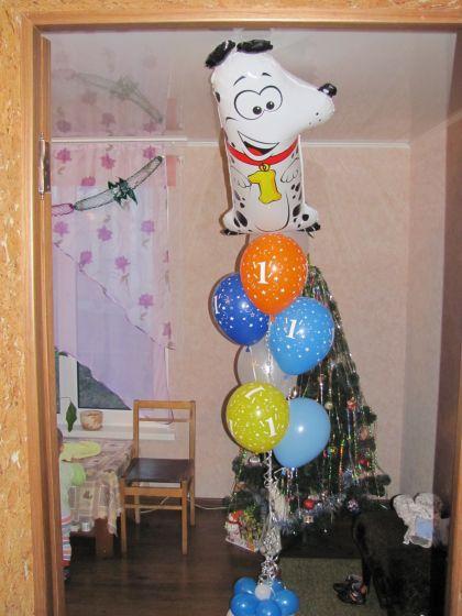 Шарики на день рождения ребенку!!!